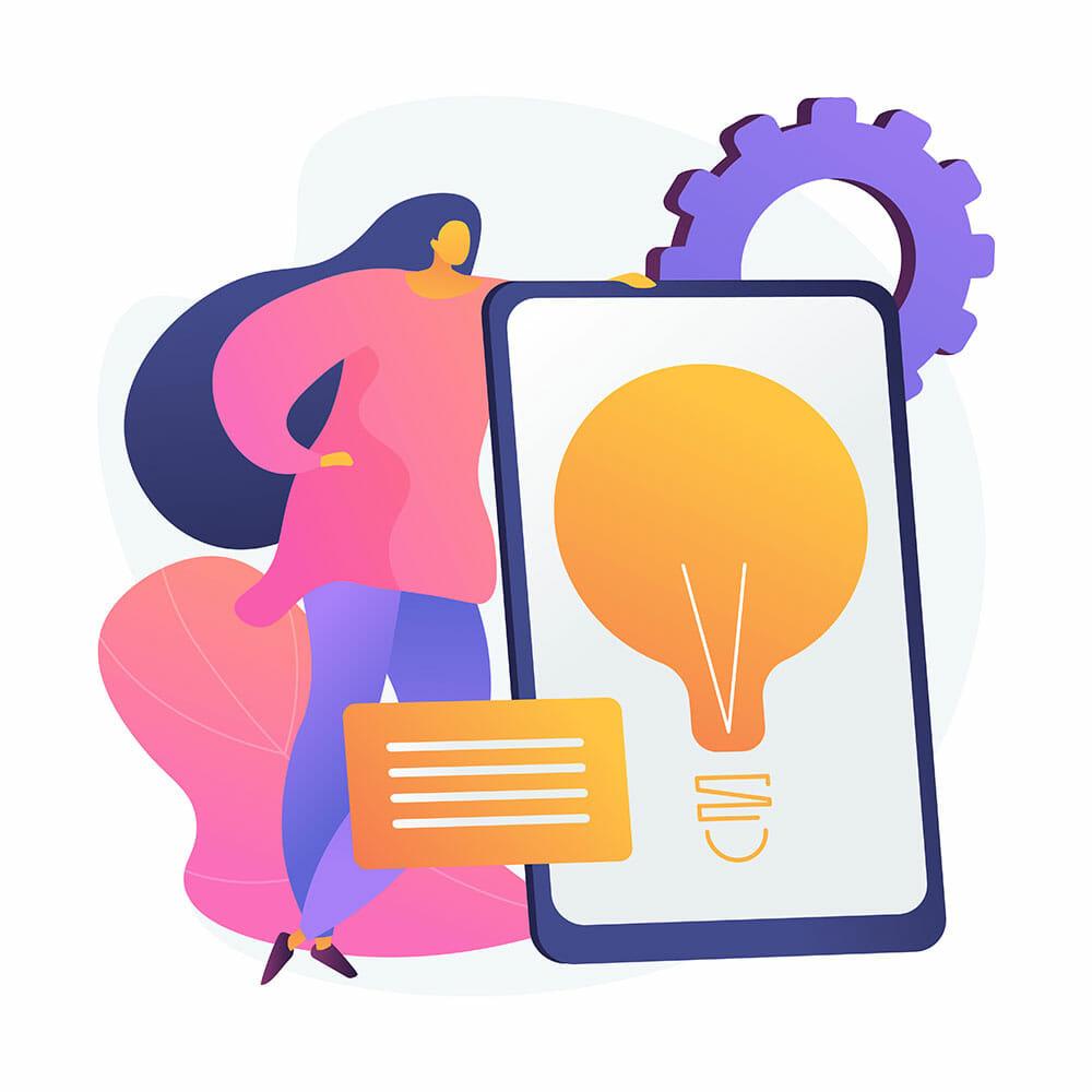 digital strategy illustration