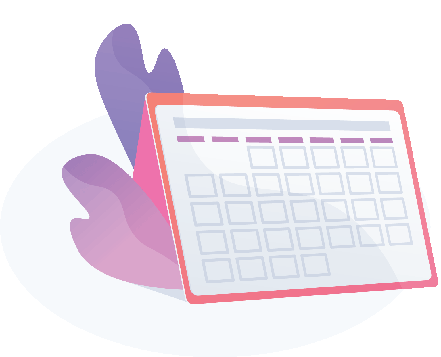 illustration of a calendar