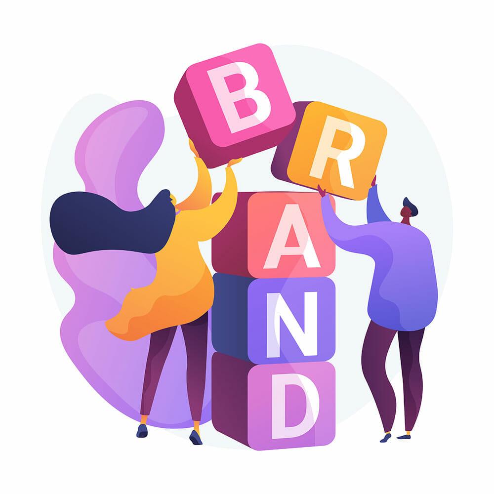 brand building illustration
